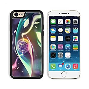 Digital Abstract Eye Art Design Punktail's Collections iPhone 6 Cover Premium Aluminium Design TPU Case Open Ports
