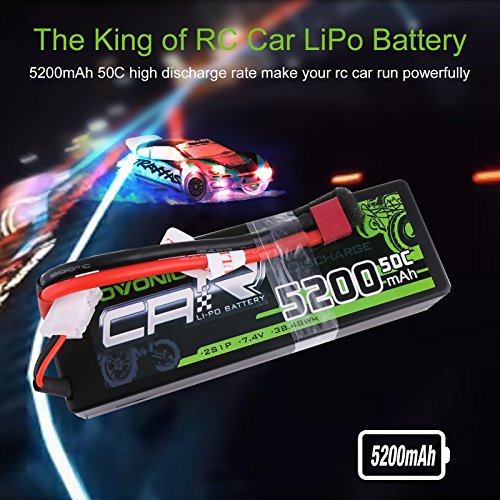 OVONIC 2s Battery 7.4V RC Vehicles