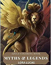 Adult Coloring Book: Myths and Legends