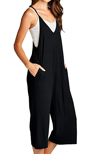 743dbb7c0f6 Amazon.com  Loving People Loose Fit Jumpsuits  Clothing