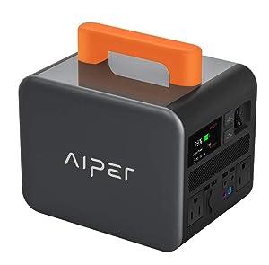 Aiper PS500 555Wh AC出力500W ジャンプスタータ機能 ポータブル電源