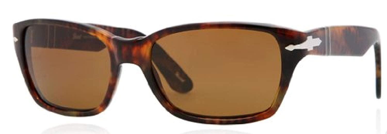 fc24cee6e7 Amazon.com  Persol Po3040s 56 Po3040s Sunglasses 108 33 Caffe  Crystal  Brown 59 18 145  Clothing