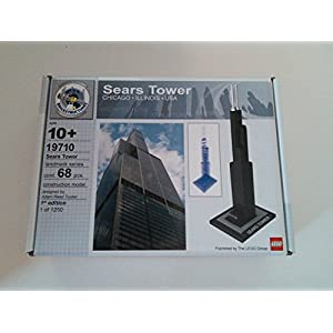 19710 Lego Architecture 1st Edition Sears Tower - Designed By Adam Reed Tucker - 51mLOvXWizL - 19710 Lego Architecture 1st Edition Sears Tower – Designed By Adam Reed Tucker