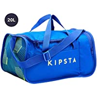 Kipsta Football Duffle Bag Kipocket 20 litres - Blue/Yellow