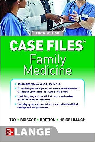 Case Files Family Medicine, 5th edition - Original PDF