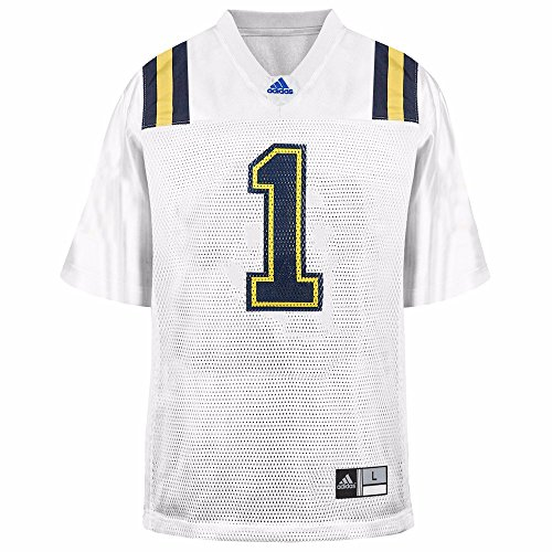 adidas UCLA Bruins NCAA White Official Road #1 Replica Football Jersey for Youth (L)