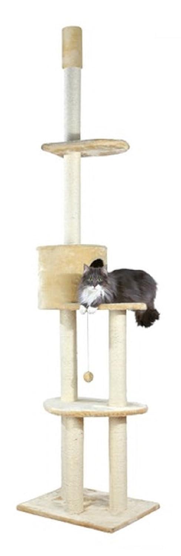 Beige Trixie Pet Products Santiago Adjustable Cat Tree