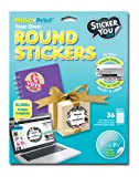 Sticker You 2301 36 Count Round Glossy Decorative Stickers