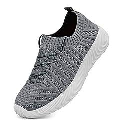 QANSI Kids Shoes Lightweight Slip On Bre...