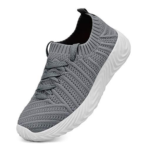 QANSI Kids Shoes Lightweight Slip On Breathable Running Walking Tennis Shoes for Girls Boys