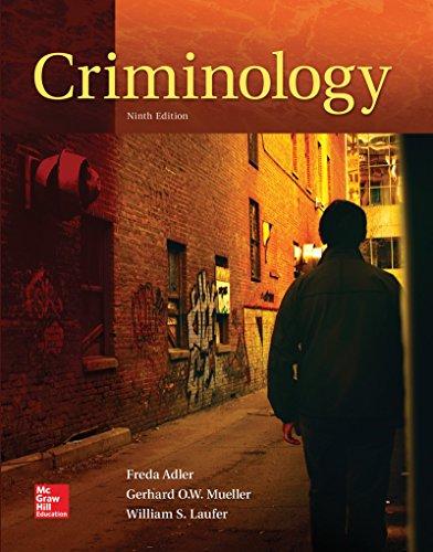 GEN COMBO CRIMINOLOGY; CONNECT ACCESS CARD