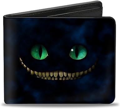 Misterioso Ejecutable cortar  Amazon.com: BUCKLE-DOWN Men 's de Tim Burton gato de Cheshire ojos y  dientes + Pose, Time Burton de árbol de ojos de gato de Cheshire/dientes +  árbol Pose Smokey Blues, tamaño estándar:
