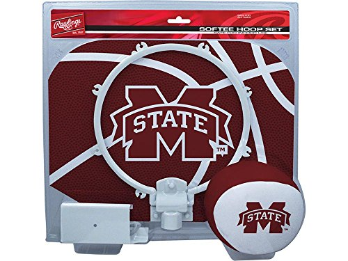 Softee Hoop Set - Rawlings Mississippi State Bulldogs Slam Dunk Softee Hoop Set