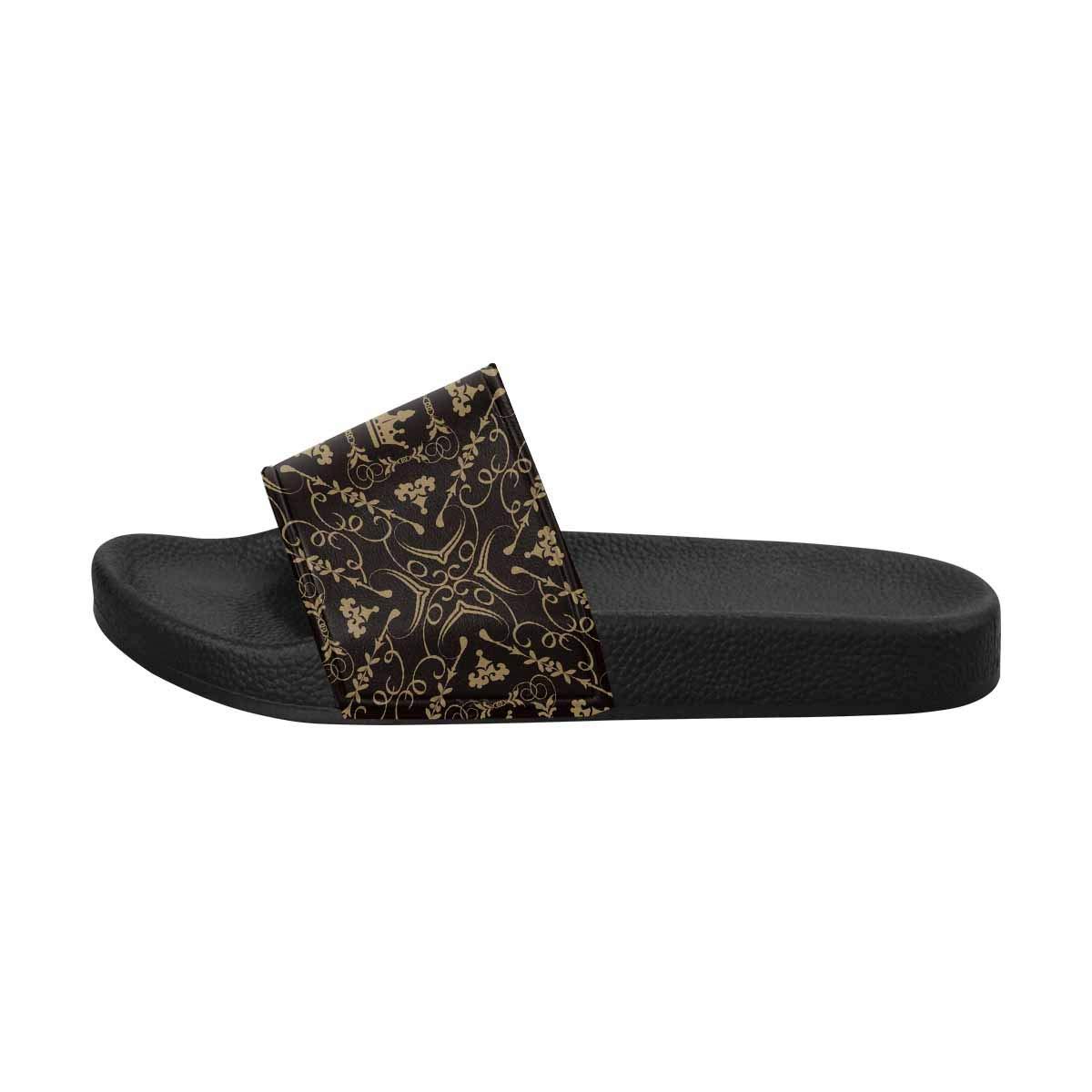 US M INTERESTPRINT Beautiful Damask Pattern Womens Outdoor Casual Comfortable Sandals 12 B