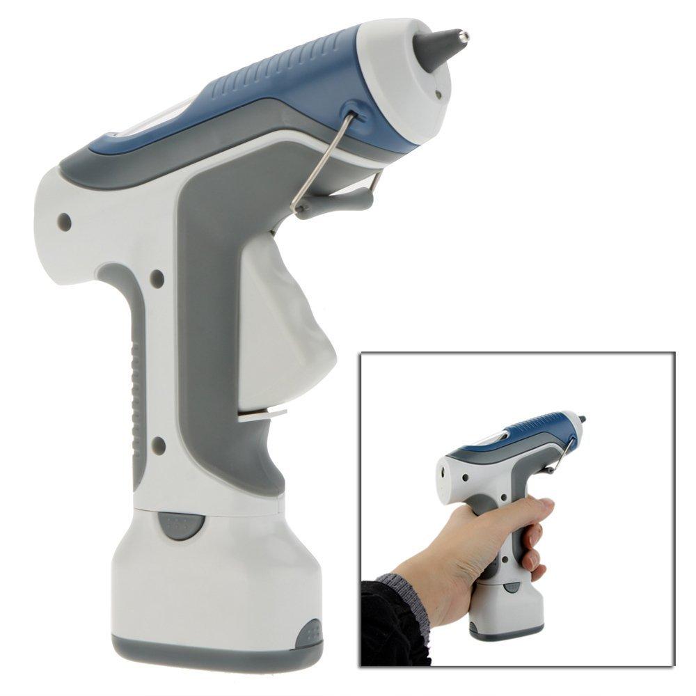 GK-368 7W 6V Battery Cordless Hot Melt Glue Gun + 3pcs 7mm Glue Stick hot Glue Gun Power Tools for DIY Model Craft