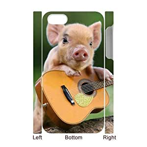 C-Y-F-CASE DIY Little Pig Pattern Phone Case For Iphone 4/4s