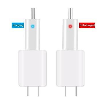 Cuigu 1 Set batería Flotador batería eléctrico USB Recargable CR425 Glow Stick Cargador