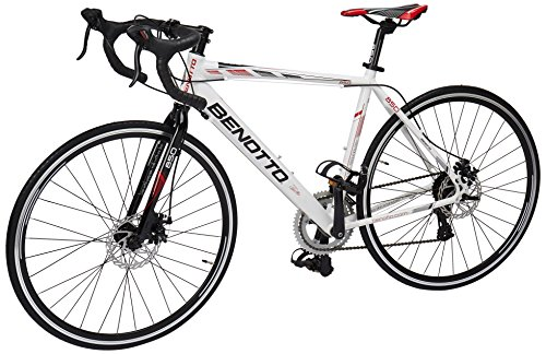 Benotto RRU850701451BL Bicicleta de Aluminio Rodada R700C, Unisex, 14 Velocidades