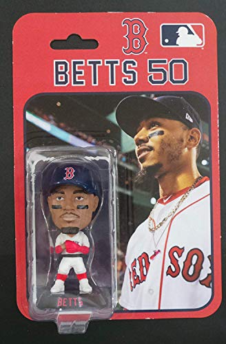 (Mookie Betts Boston Red Sox Official MLB Action Figurine Bobble Head 4
