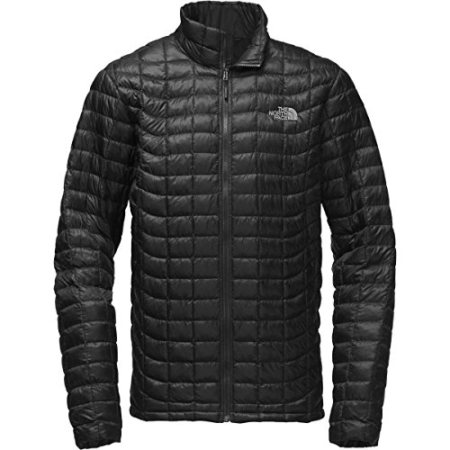 The North Face Men's Tall Thermoball Jacket Black (Ripstop Nylon Jacket)