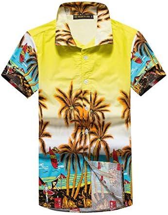 LFNANYI Hombre Camisa Hawaiana de Verano Casual Animal Impreso Manga Corta Masculina Camisas de Playa M-5XL ST55 5XL: Amazon.es: Deportes y aire libre
