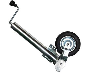 The Drive 18311 Rueda jockey para remolque, automática, 60 mm, 400 kg carga de apoyo (compruebe la normativa local para asegurarse): Amazon.es: Coche y moto