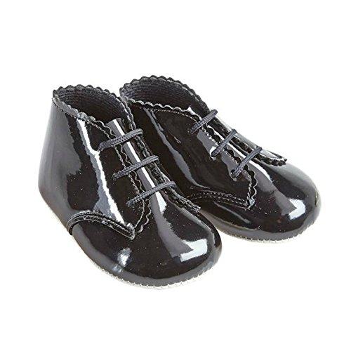 Earlydays Baypods - Zapatos primeros pasos para niña Negro - negro (black patent)