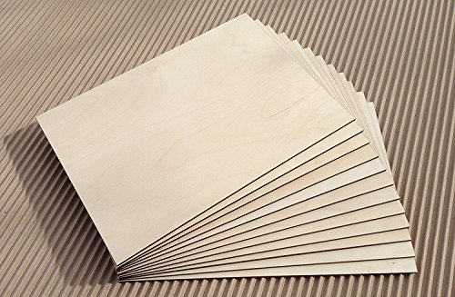 -[ Laserply Birch Plywood A4 Sheet 25 pack  ]-