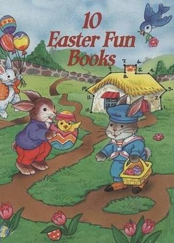 10 Easter Fun Books: Stickers, Stencils, Tattoos and More (Dover Little Activity Books) by Dover Publications (Image #10)
