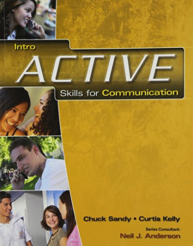 ACTIVE Skills for Communication Intro: Student Text/Student Audio CD Pkg. - Pkg Sandy