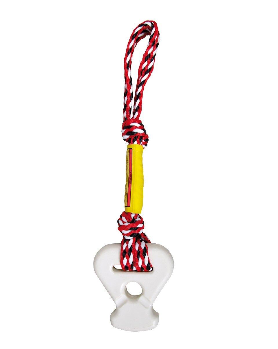 Jobe Cordino di aggancio, per sport acquatici, Rosso (Red) 230812001PCS.