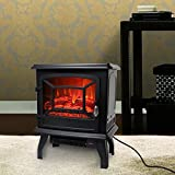 "ROVSUN 20"" H Electric Fireplace Stove Space"