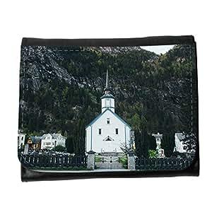 le portefeuille de grands luxe femmes avec beaucoup de compartiments // M00311415 Iglesia Capilla Edificio Religión // Small Size Wallet