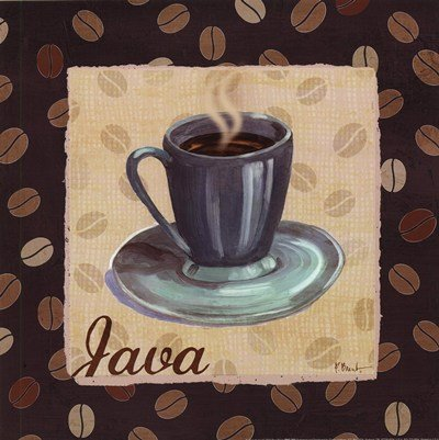 Cup of Joe IV by Paul Brent - 12x12 Inches - Art Print Poster