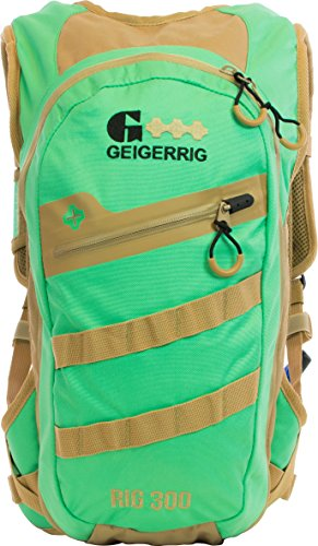 Geigerrig Pressurized Hydration Pack - Rig 300M - Spearmint/Tan by Geigerrig
