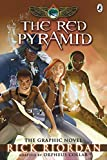 Front cover for the book The Red Pyramid: The Graphic Novel by Rick Riordan