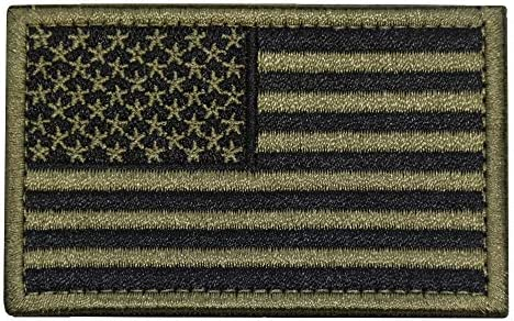 Embroidered American Tactical Fastener Backing product image