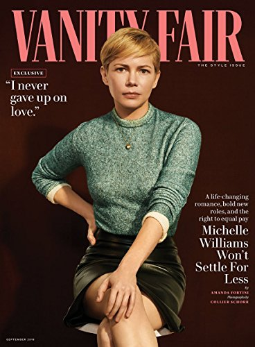 (Vanity Fair Magazine (September, 2018) Michelle Williams)