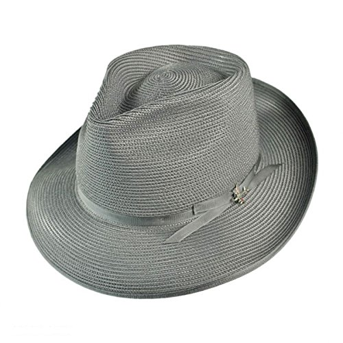 767c9f213e0 Stetson Men s Stratoliner Florentine Milan Straw Hat at Amazon Men s ...