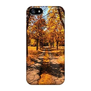 Faddish Phone Old Road In Autumn Case For Iphone 5/5s / Perfect Case Cover