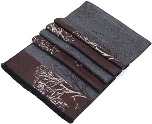 Gallery Seven Winter Scarfs for Women - Fashion Womens Winter Scarves - Elegant Gift Wrapped - Smoky Forest by Gallery Seven (Image #5)