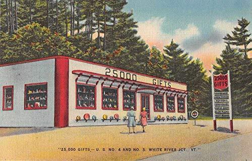 White River Junction Vermont Gift Shop Roadside America Postcard JJ649559
