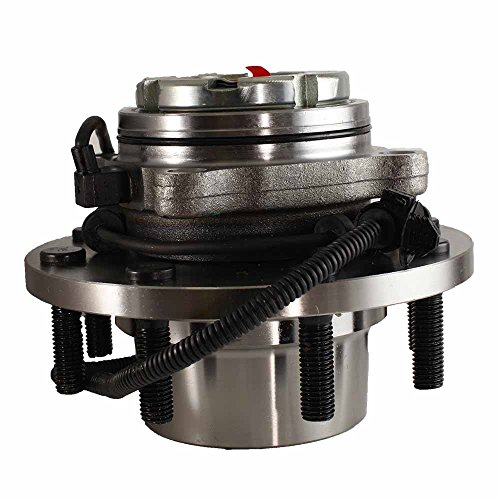 HU515025 x 1 Brand New Wheel Bearing Hub Assembly Front Left Or Right Side (8 Lug 4WD 4-Wheel ABS Dual Rear Wheel) Fit 99-02 Ford F250 F350 F450 F550