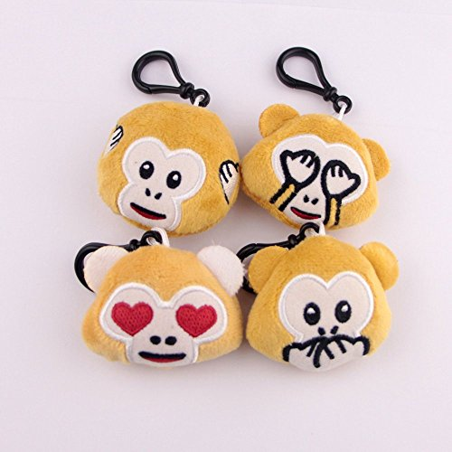 Swity Home 36 Pack Mini Emoji Plush Toy, Emoticon Toy, Mini Keychain Decorations, For Party Decoration, Party Supplies Favors, Set of 36 by Swity Home (Image #1)