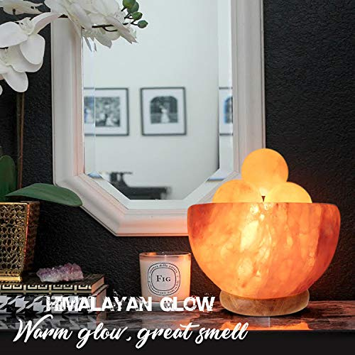 Himalayan Glow 1328 Bowl Salt lamp with Massage Ball by Himalayan Glow (Image #2)