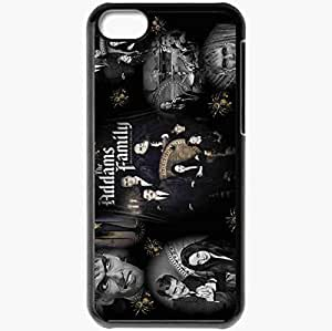 Personalized iPhone 5C Cell phone Case/Cover Skin Addams Family Black