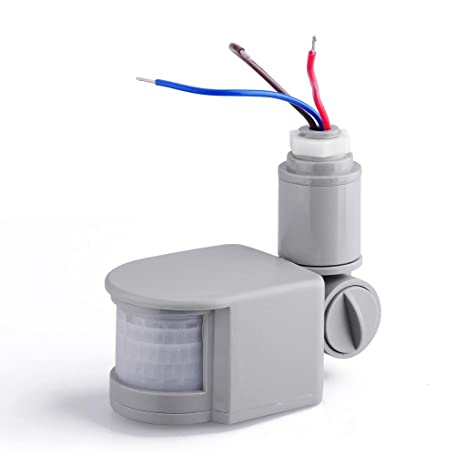 LED Security PIR Infrared Motion Sensor Detector Wall Light Outdoor RF 140¡ã 12M - - Amazon.com