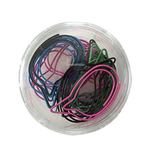 VÄLBEKANT Paper Clips, assorted colors, decorative, bubble shapes Clip Art Certificate