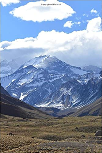 Andes Mountains In Bolivia Journal 150 Page Lined Notebook Diary Image Cool 9781535316767 Amazon Com Books