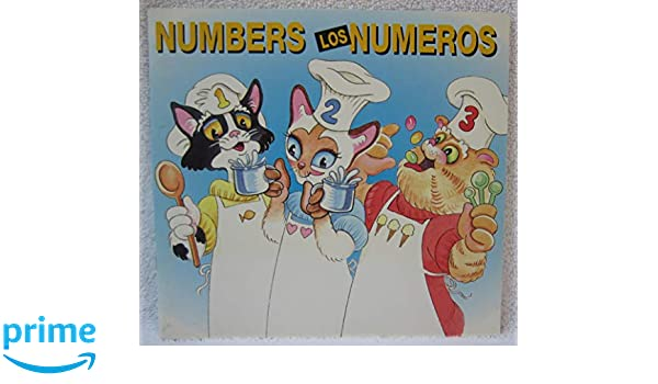 Crazy Cats Numbers Los Gatos Locos Los Numeros (Spanish and English Edition): Clamshell: 9781886972315: Amazon.com: Books